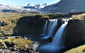 Waterfall on the outskirts of Snæfellsnesvegur